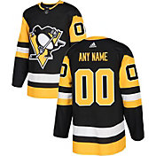 adidas Men's Custom Pittsburgh Penguins Authentic Pro Home Jersey