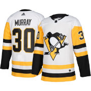 adidas Men's Pittsburgh Penguins Matt Murray #30 Authentic Pro Away Jersey