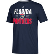 adidas Men's Florida Panthers The Go-To Navy Performance T-Shirt