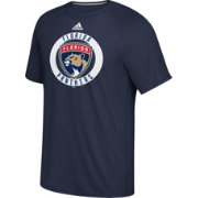 adidas Men's Florida Panthers Practice Ultimate Navy Performance T-Shirt