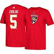 adidas Men's Florida Panthers Aaron Ekblad #5 Red T-Shirt