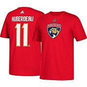 adidas Men's Florida Panthers Jonathan Huberdeau #11 Red T-Shirt