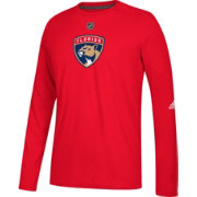 adidas Men's Florida Panthers Primary Position Ultimate Red Long Sleeve Shirt