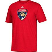 adidas Men's Florida Panthers Big Logo Red T-Shirt