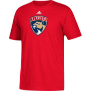adidas Men's Florida Panthers Big Logo Red T-Shirt