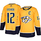 adidas Men's Nashville Predators Mike Fisher #12 Authentic Pro Home Jersey