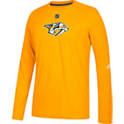adidas Men's Nashville Predators Primary Position Ultimate Gold Long Sleeve Shirt