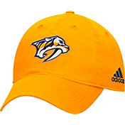 adidas Men's Nashville Predators Basic Gold Slouch Adjustable Hat