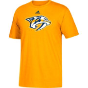 adidas Men's Nashville Predators Big Logo Gold T-Shirt
