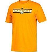 adidas Men's Nashville Predators Dassler Gold T-Shirt