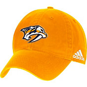 adidas Men's Nashville Predators Gold Unstructured Adjustable Hat