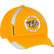 adidas Men's Nashville Predators Practice Structured Gold Flex Hat