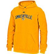 adidas Men's Nashville Predators Smashville Gold Pullover Hoodie
