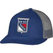 CCM Men's New York Rangers Trucker Navy Mesh Adjustable Hat