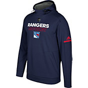 adidas Men's New York Rangers Authentic Pro Player Navy Performance Pullover Hoodie