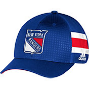 adidas Men's New York Rangers 2017 NHL Draft Structured Flex Hat