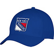adidas Men's New York Rangers Team Colored Basic Structured Royal Flex Hat