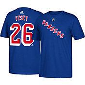 adidas Men's New York Rangers Jimmy Vesey #26 Royal T-Shirt
