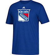 adidas Men's New York Rangers Big Logo Royal T-Shirt