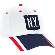 adidas Men's 2018 Winter Classic New York Rangers Structured White Flex Hat