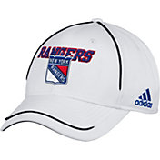 adidas Men's New York Rangers White Structured Adjustable Hat
