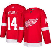 adidas Men's Detroit Red Wings Gustav Nyquist #14 Authentic Pro Home Jersey