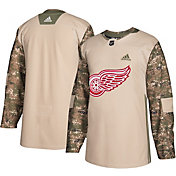 adidas Men's Detroit Red Wings Camo Authentic Pro Jersey