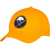 adidas Men's Buffalo Sabres Alternate Colored Basic Structured Gold Flex Hat