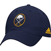 adidas Men's Buffalo Sabres Basic Navy Slouch Adjustable Hat