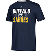 adidas Men's Buffalo Sabres The Go-To Navy Performance T-Shirt