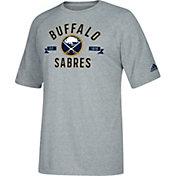 adidas Men's Buffalo Sabres Misconduct Performance Heather Grey T-Shirt