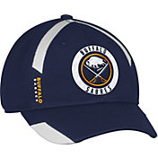 adidas Men's Buffalo Sabres Practice Structured Navy Flex Hat