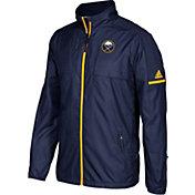 adidas Men's Buffalo Sabres Authentic Rink Navy Full-Zip Jacket