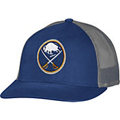 CCM Men's Buffalo Sabres Trucker Royal Mesh Adjustable Hat