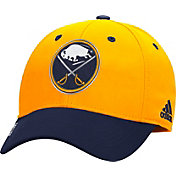 adidas Men's Buffalo Sabres 100 Year Structured Gold Flex Hat