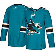 adidas Men's San Jose Sharks Authentic Pro Home Jersey