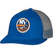 CCM Men's New York Islanders Trucker Royal Mesh Adjustable Hat