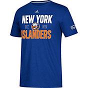 adidas Men's New York Islanders Centennial Lining Royal Performance T-Shirt