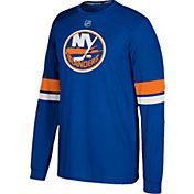 adidas Men's New York Islanders Jersey Royal Long Sleeve Shirt