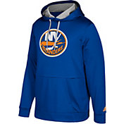 adidas Men's New York Islanders Royal Performance Pullover Hoodie