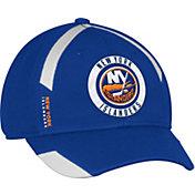 adidas Men's New York Islanders Practice Structured Royal Flex Hat