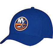 adidas Men's New York Islanders Team Colored Basic Structured Royal Flex Hat