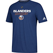 adidas Men's New York Islanders Authentic Ice Ultimate Royal Performance T-Shirt