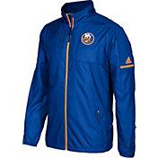 adidas Men's New York Islanders Authentic Rink Royal Full-Zip Jacket