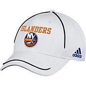 adidas Men's New York Islanders White Structured Adjustable Hat