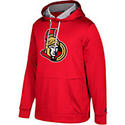 adidas Men's Ottawa Senators Red Performance Pullover Hoodie
