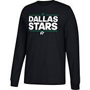 adidas Men's Dallas Stars Dassler Black Long Sleeve Shirt