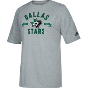 adidas Men's Dallas Stars Misconduct Performance Heather Grey T-Shirt