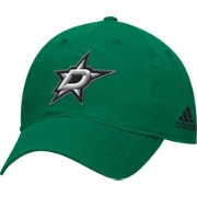 adidas Men's Dallas Stars Basic Green Slouch Adjustable Hat