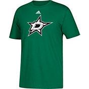 adidas Men's Dallas Stars Big Logo Green T-Shirt